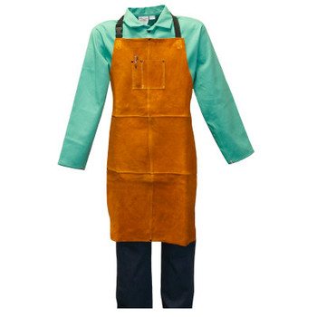 Stanco Leather Welder's Clothing, 24 in x 36 in, Leather, Golden Brown (1 EA/EA)