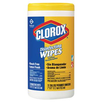 Clorox Clorox Disinfectant Wipes, Lemon Scent, 35 Count (12 EA)