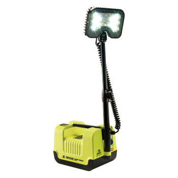 Pelican Remote Area Lighting System, 21W, 1,600 lm, Black/Green, 12.6 in Cord (1 EA/EA)