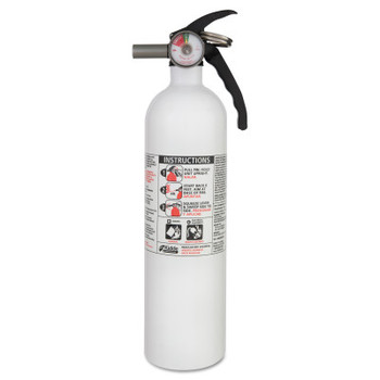 Kidde Kitchen Fire Extinguishers, Class B and C Fires, 2.9 lb Cap. Wt. (1 EA/EA)
