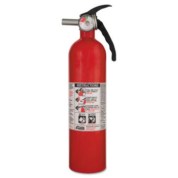 Kidde Fire Control Fire Extinguishers, Class B and C Fires, 2 3/4 lb Cap. Wt. (1 EA/EA)