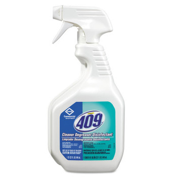 Clorox Formula 409 Cleaner Degreaser/Disinfectant, 32 oz Trigger Spray Bottle (12 EA)