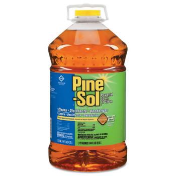 Clorox Pine-Sol Liquid Cleaner, Disinfectant, Deodorizer, Pine Scent, 144 oz Bottle (3 EA)