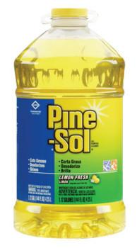 Clorox Pine-Sol All-Purpose Cleaner, Lemon Scent, 144 oz Bottle (3 EA)