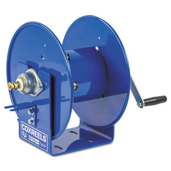 Coxreels Challenger Hand Crank Welding Cable Reels, 100 ft, 1/0 AWG, Hand Crank Cable (1 EA)