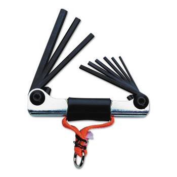 Stanley Products Tether-Ready Folding Hex Key Sets, Inch (1 EA/EA)