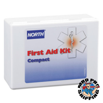 North by Honeywell Compact First Aid Kits, 26-Piece, Plastic Case (1 EA/CT)