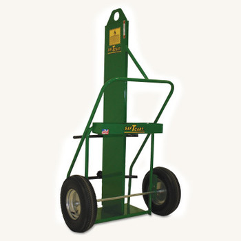 Saf-T-Cart Large Cylinder Cart, Holds 12-1/2 in Cylinder (1 EA/CT)