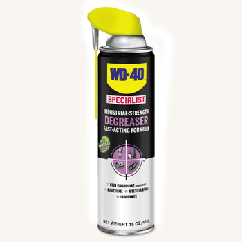WD-40 Specialist Industrial-Strength Degreasers, 15 oz, Aerosol Can, Unscented (6 CA/CA)
