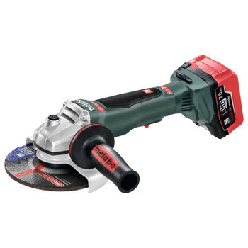 Metabo 18 Volt Cordless Angle Grinders, 6 in Dia, 9,000 rpm, Paddle Switch (1 EA/EA)