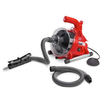 Ridgid Tool Company PowerClear Drain Cleaning Machines, 450 rpm, 1/4 in Pipe Dia., 1 1/2 in Drain (1 EA/EA)