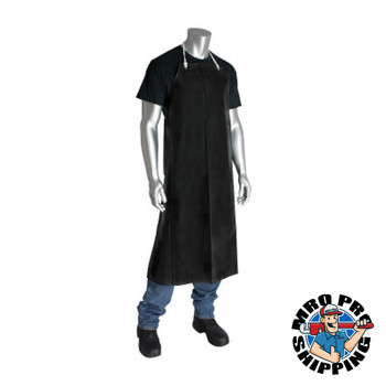 Protective Industrial Products, Inc. PIP Neoprene Aprons, 33 in x 45 in, Black (48 CA/EA)