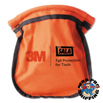 Capital Safety Small Parts Pouches, Carabiner, Orange (1 EA/EA)