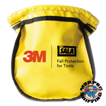 Capital Safety Small Parts Pouches, Carabiner, Yellow (1 EA/EA)