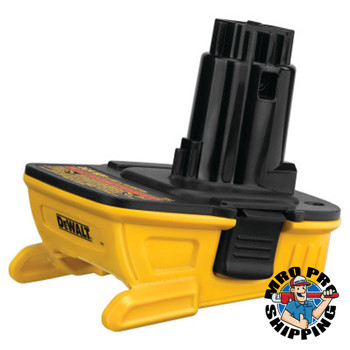 DeWalt 18V Tool Battery Adapters, For 18V DeWalt Tools (1 EA/EA)