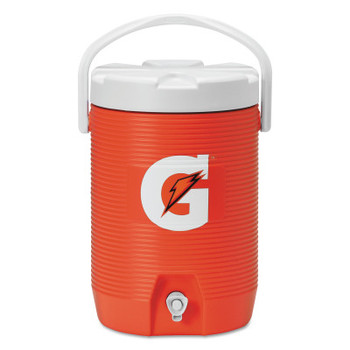 Gatorade Beverage Cooler, 3 gal, Orange/White (1 EA/EA)