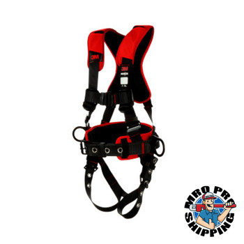 Capital Safety Positioning Harnesses, D-Ring, Small, Tongue Buckle, Comfort Positioning Harness (1 EA/EA)