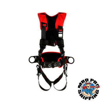 Capital Safety Positioning Harnesses, D-Ring, X-Large, Comfort Positioning Harness (1 EA/EA)