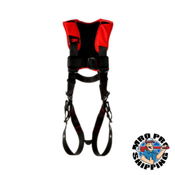 Capital Safety Vest Style Harnesses, D-Ring, Small, Tongue Buckle, Comfort Vest Style (1 EA/CA)