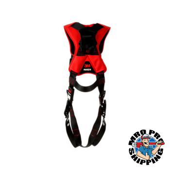 Capital Safety Vest Style Harnesses, D-Ring, X-Large, Tongue Buckle, Comfort Vest Style (1 EA/TB)