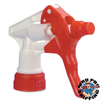 Boardwalk Trigger Sprayer 250 for 24 oz Bottles, Red/White, 8 in Tube (24 CA/CA)