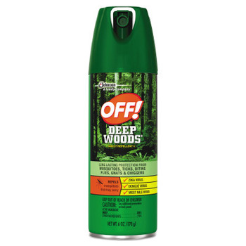 Diversey Deep Woods Insect Repellent, 6 oz Aerosol (12 CT/BX)