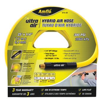 Plews Ultra Air Hybrid Air Hoses, 25 ft x 1/4 in (5 EA/CTN)