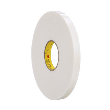 3M VHB Tapes, 4951, White, 3/4 in x 36 yd (12 CA/EA)