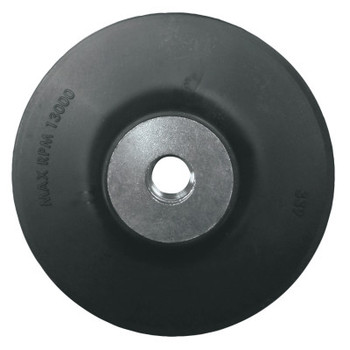 Anchor Products Backing Pads for Resin Fiber Sanding Discs, 5 in X 5/8 in - 11, Firm (10 BX/EA)