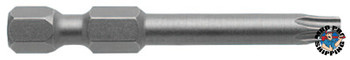 Apex Tool Group Torx Power Bits, T15 Dr, 2 in Long, Carded (1 EA/CTN)