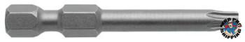 Apex Tool Group Torx Power Bits, T15 Dr, 2 in Long, Bulk (25 PK/EA)