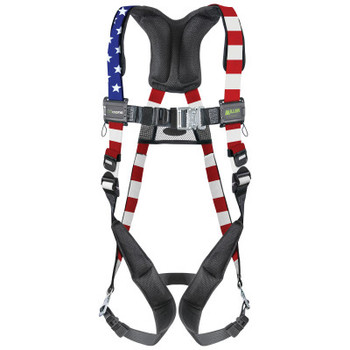 Honeywell AirCore Patriotic Steel Harnesses, Quick-Connect Buckle Legs (1 EA/EA)