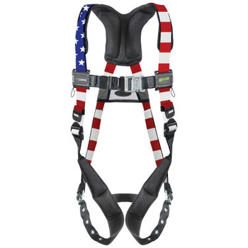 Honeywell AirCore Patriotic Steel Harnesses, Tongue Buckle Legs, Belt (1 EA/EA)
