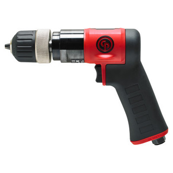 Chicago Pneumatic CP9287C Pistol Drill, 3/8 in Chuck, 3,000 rpm, Keyless (1 EA/EA)