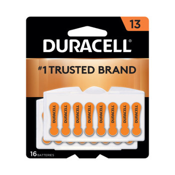 Duracell Button Cell Hearing Aid Battery #13 (384 CA/EA)