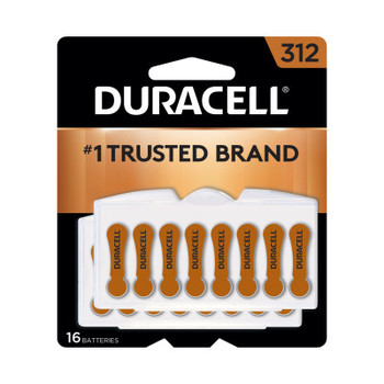 Duracell Button Cell Hearing Aid Battery #312 (576 CA/EA)