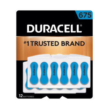Duracell Button Cell Hearing Aid Battery #675 (288 CA/EA)