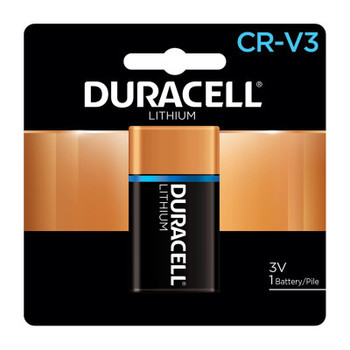 Duracell Ultra High Power Lithium Battery, CRV3, 3V (1 EA/CTN)