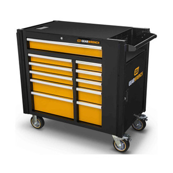 Apex Tool Group 11 Drawer Mobile Work Stations, 42.5 in x 25.4 in x 41 in, 1 Door (1 EA/EA)