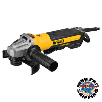DeWalt Brushless Paddle Switch Small Angle Grinders with Kickback Brakes, No Locks (1 EA/EA)