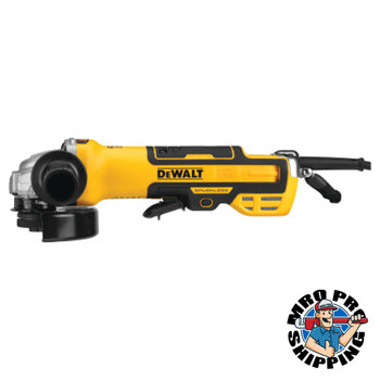 DeWalt Brushless Paddle Switch Small Angle Grinders, 5 in, Paddle Switch w/No Lock-On (1 EA/EA)