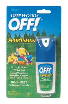 Diversey Deep Woods Sportsmen Insect Repellent, 1 oz Spray Bottle (12 CT/EA)