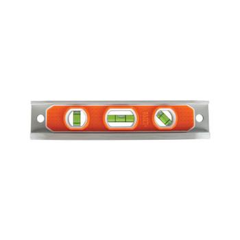 Klein Tools Torpedo Levels, 9 in, 3 Vials, Aluminium, Magnetic, V-Grooved (1 EA/EA)