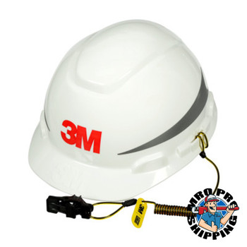 Capital Safety Hard Hat Tethers, Used With 3M Hard Hats and Caps, Hat Clips (10 PK/CTN)