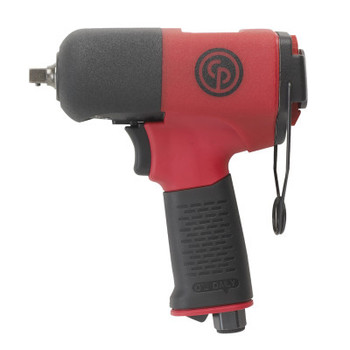 Chicago Pneumatic 3/8 in Drive Impact Wrenches, 60ft.lb - 295ft.lb, Pin Retainer Retainer (1 EA/EA)