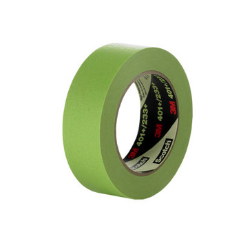 3M High Performance Masking Tapes 401+, 6 mm x 55 m, Green (1 RL/EA)