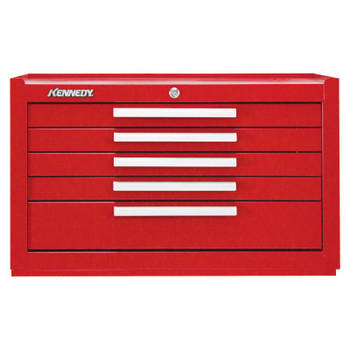 Kennedy Machinists' Chests, 29 in x 20 in x 16 1/2 in, 4872 cu in, Red (1 EA/EA)