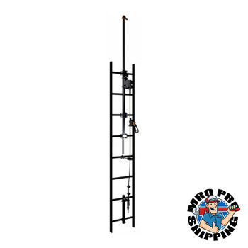 Capital Safety Lad-Saf Cable Vertical Safety System Bracketry, 9.6 in x 79.5 in, Anchor Ext (1 EA/EA)
