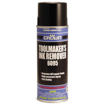 Aervoe Industries Toolmaker's Ink Removers, 16 oz Aerosol Can (12 CAN)