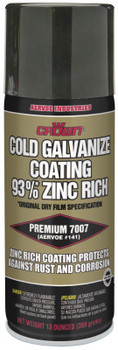 Aervoe Industries Cold Galvanizing Compound, 16 oz Aerosol Can (12 CN)